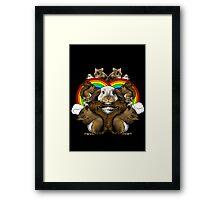 Small Mammals Framed Print