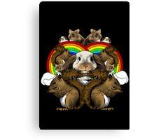 Small Mammals Canvas Print