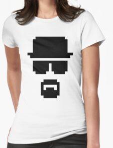 Pixel Heisenberg Womens Fitted T-Shirt