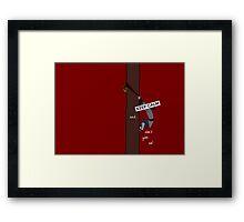 Keep Calm: Mulan's Determination Framed Print