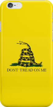 Smartphone Case - Gadsden (Tea Party) Flag II by Mark Podger