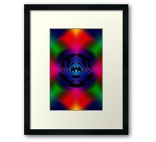 The Clown Colour Framed Print