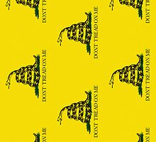 Smartphone Case - Gadsden (Tea Party) Flag IV by Mark Podger