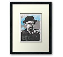Heisenberg / Walter White Poster Framed Print