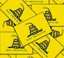 Iphone Case - Gadsden (Tea Party) Flag VII by Mark Podger
