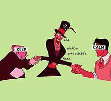 Keep Calm: Sinner's Hand by nomadicart