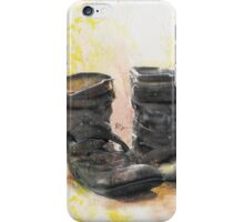 Boots in the Hall iPhone Case/Skin