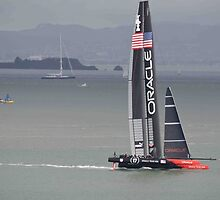 Sailing America SF Bay by HanieBCreations
