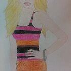 Amanda Sketch by Shanna J. S. Dunlap