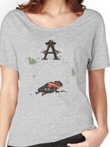 New Serif in Town Women's Relaxed Fit T-Shirt