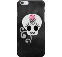 Skull With Rose iPhone Case/Skin