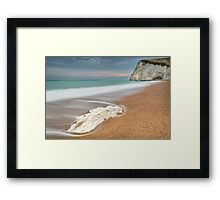 Bat's Head at Durdle Door Framed Print