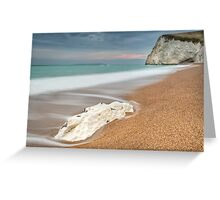 Bat's Head at Durdle Door Greeting Card