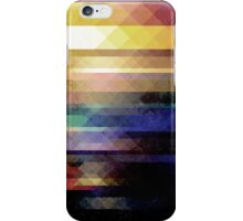 Abstract Geometry of Colors iPhone Case/Skin