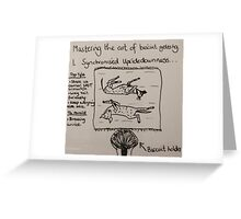 New Version - The Art of Biscuit Getting Greeting Card