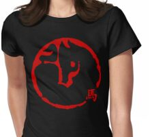 Abstract Year of The Horse Womens Fitted T-Shirt