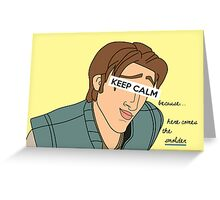 Keep Calm: Smolder Greeting Card