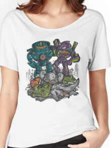 Buddies Vs Apocalypse Women's Relaxed Fit T-Shirt