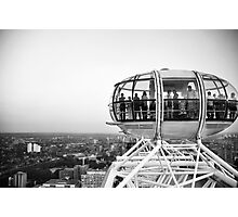 The London Eye Photographic Print