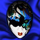 Blue Velvet Venice Mask  by BluedarkArt