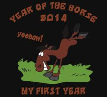 Born Year of The Horse Baby 2014 Kids Clothes