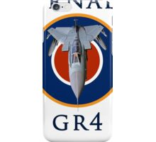 Tornado GR4 illustrated with text iPhone Case/Skin