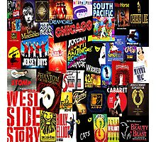 Broadway Collage Photographic Print