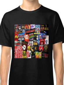 Broadway Collage Classic T-Shirt