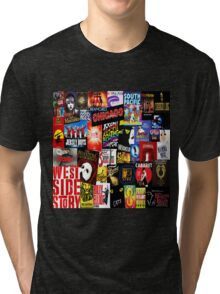 Broadway Collage Tri-blend T-Shirt