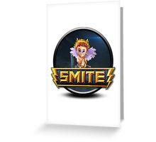 Smite Cupid Logo Greeting Card