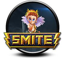 Smite Cupid Logo Photographic Print