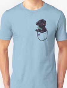 Pocket Puppiez - Pug Black T-Shirt