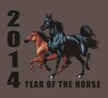 2014 Year of The Horse T-Shirts Gifts Prints Baby Tee
