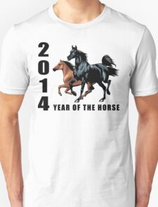 2014 Year of The Horse T-Shirts Gifts Prints Unisex T-Shirt