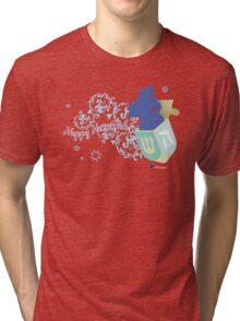 Happy Hanukkah! 2 Tri-blend T-Shirt