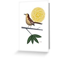 Thrasher Greeting Card