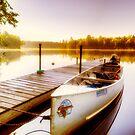 Lazy Mans Canoe by Bruce Taylor