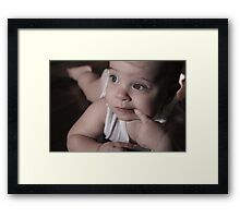 Lindsay (niece) Framed Print