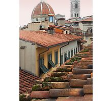 From my Window, Florence Photographic Print