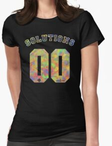 99 problems? 00 solutions! *JEWEL* Womens Fitted T-Shirt