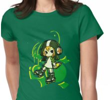 Jet-Set-Chibi Womens Fitted T-Shirt