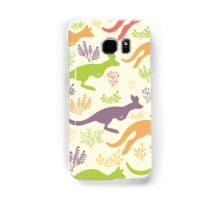 Jumping kangaroos pattern Samsung Galaxy Case/Skin