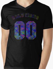 99 problems? 00 solutions! *JEWEL SAPPHIRE* Mens V-Neck T-Shirt