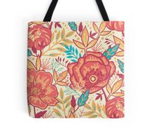 Bright garden pattern Tote Bag