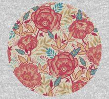 Bright garden pattern One Piece - Short Sleeve