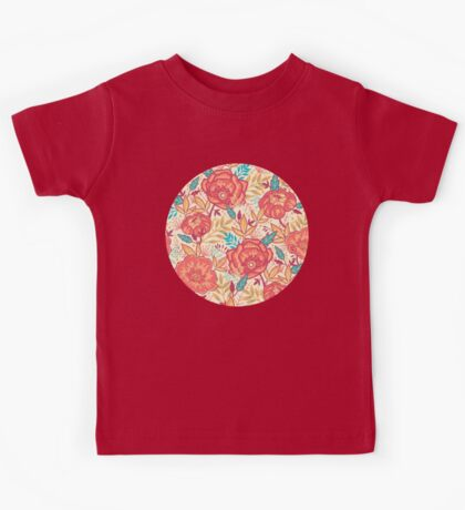 Bright garden pattern Kids Tee