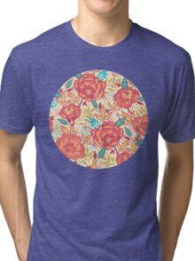 Bright garden pattern Tri-blend T-Shirt