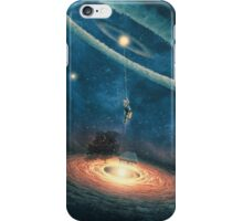My dream house is in another galaxy iPhone Case/Skin