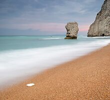 The Stack at Bat's Head, Durdle Door by Chris Frost Photography