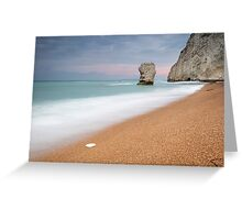 The Stack at Bat's Head, Durdle Door Greeting Card